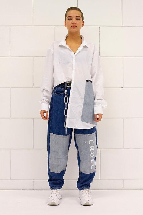 Patch Light Jeans 2.0 Woman