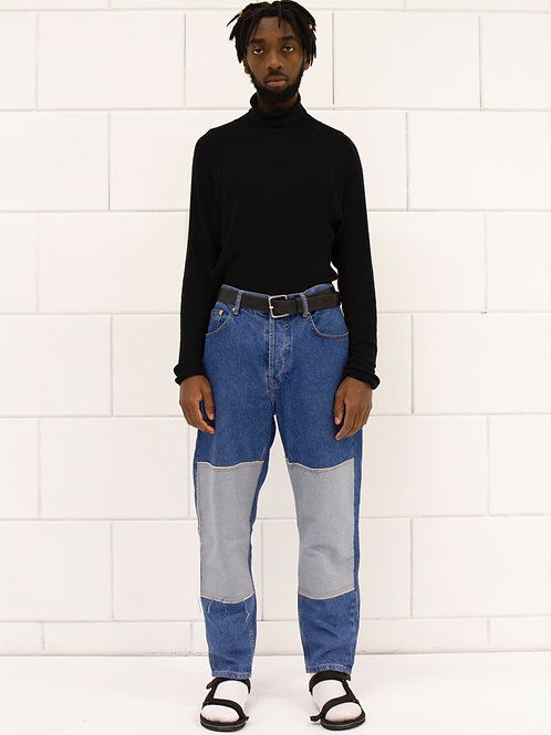 Patch Light Jeans Unisex