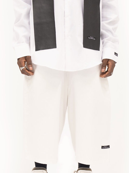 Exclusive White Dalvik Shorts Men