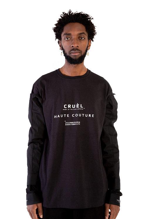 CRUÈL Couture T-Shirt Black Mens