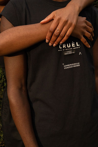 CRUÈL SS20 Serie Four Essential Capsule - Black Love
