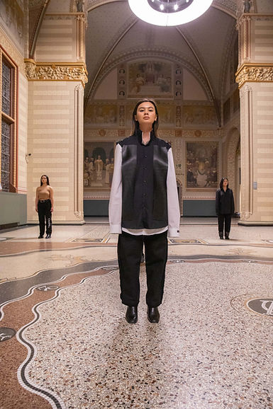 CRUÈL Rijksmuseum Lookbook FW20 - Suwon Shirt