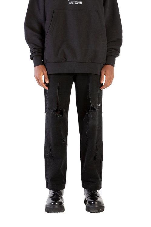 Khema Cut-Out Button Jeans Mens