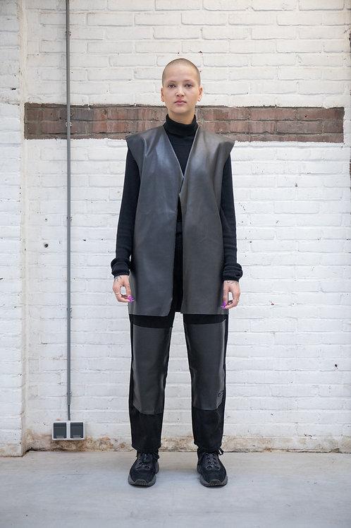 Blaz Leather Vest Woman