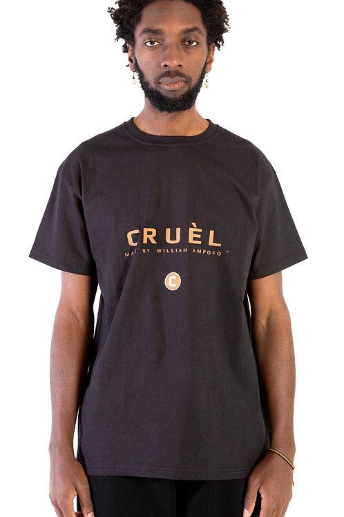 CRUÈL C-Logo T-Shirt Mens