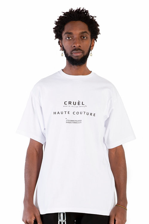 CRUÈL Couture T-Shirt White Mens