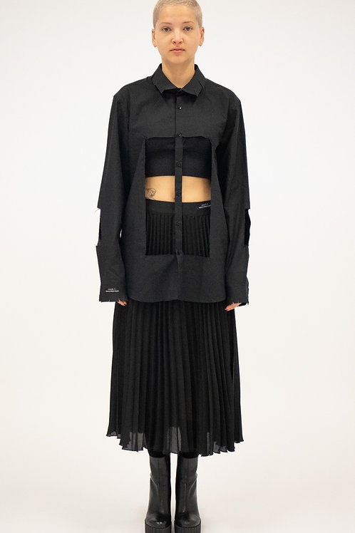 Thane Pleated Skirt Woman