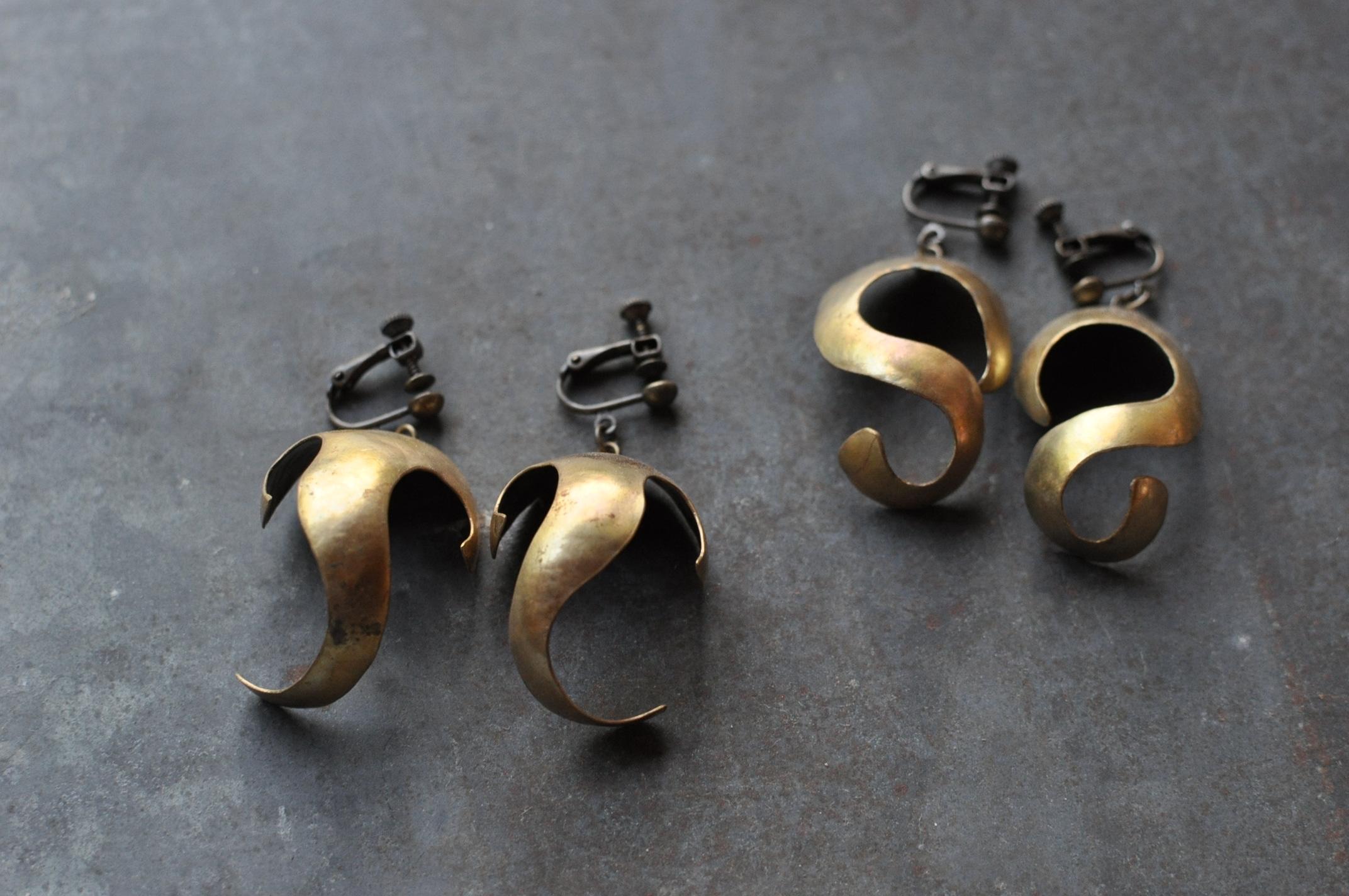 真鍮GGHイヤリング
