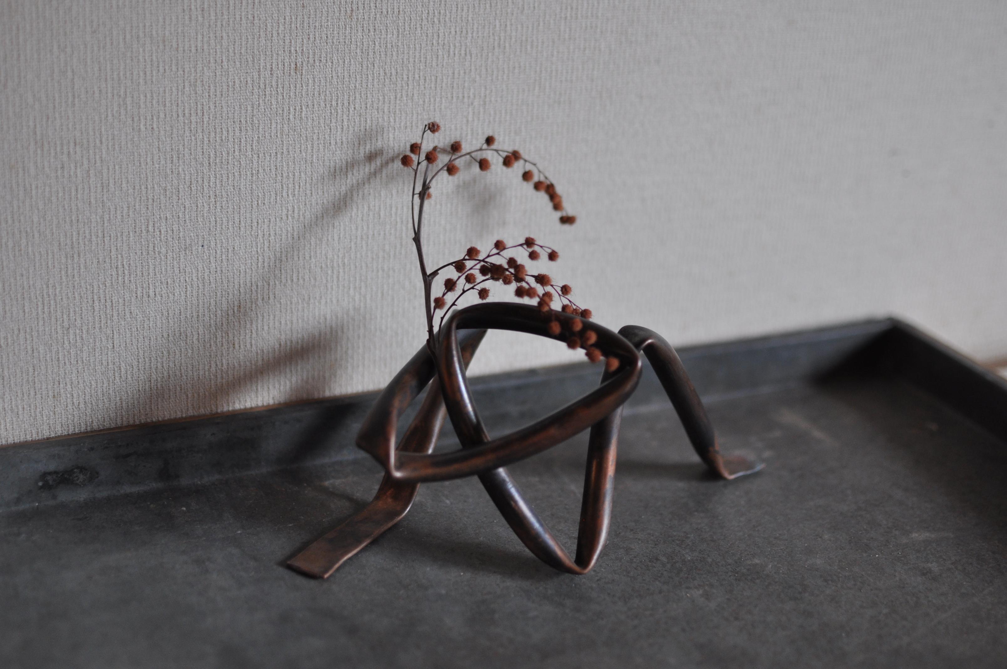 銅製 花器