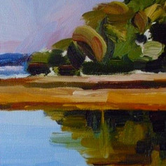 """Pickeney Island, S.C."" detail"