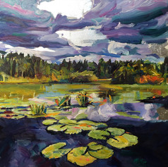 """""""Lily Pads, Okefenokee"""""""