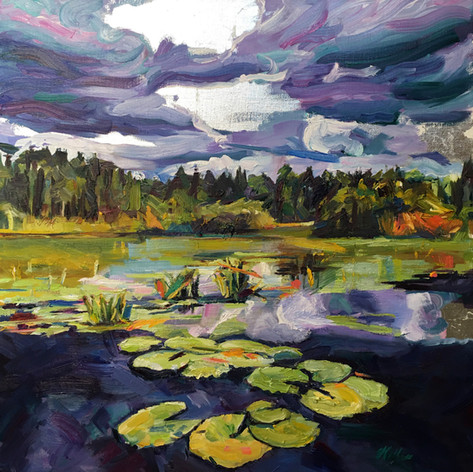 """Lily Pads, Okefenokee"""