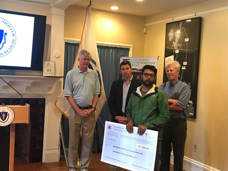 Massachusetts Environmental Trust grants awarded to CFF