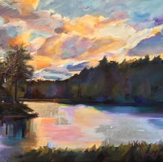 """""""Kanuga Lake, N.C."""""""