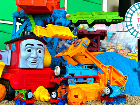 Thomas & Friends Super Cruiser and Cave Collapse