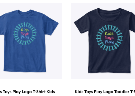 New! Kids Toys Play T-Shirts Have Arrived!