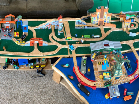 Thomas and Friends Diesel Do Right Episode Parody Layout
