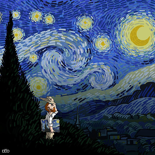 Hats off for Starry Night