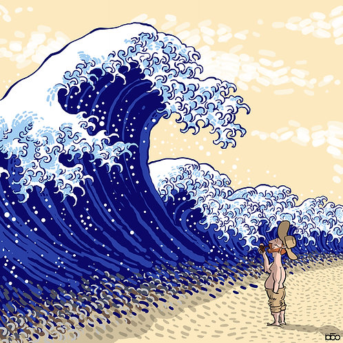 Hokusai's Waves