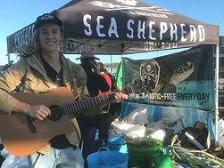 Matthew Bentley - Sea Shepherd beach cle