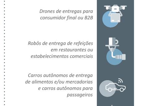Tecnologias de entregas autônomas: quais empresas estão investindo
