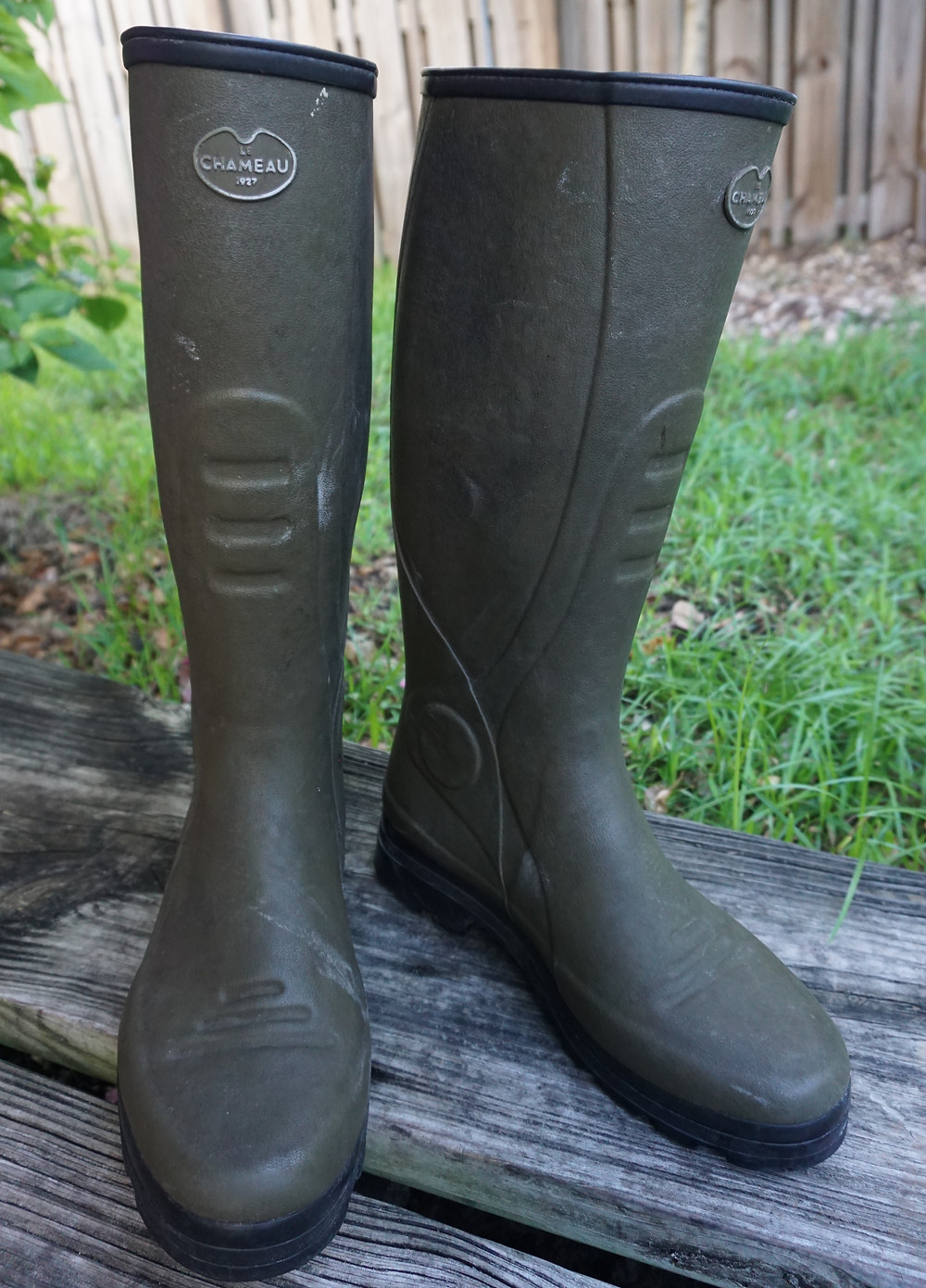 Tall rubber boots like Le Chameau are a must for Snipe hunting