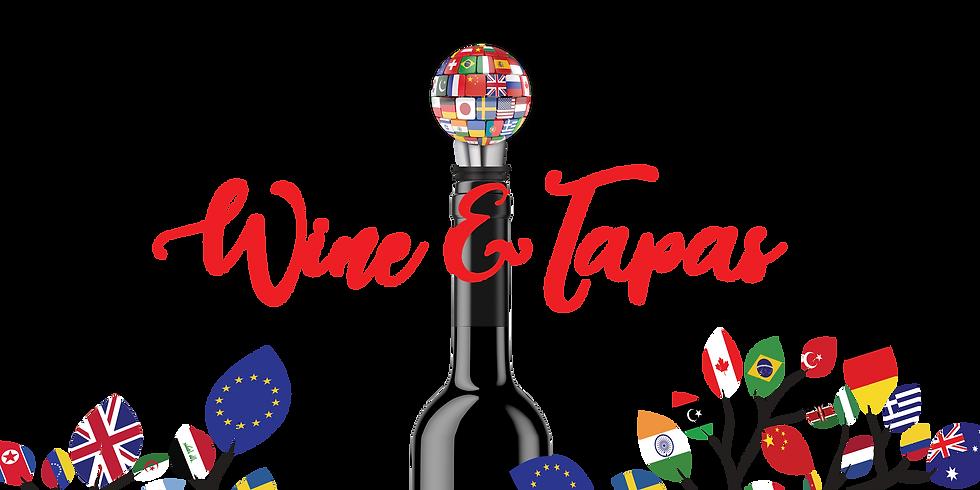 Wine and Tapas Goes International