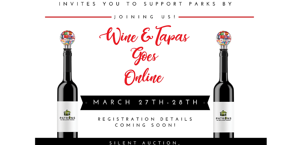 Wine and Tapas Online Fundraiser