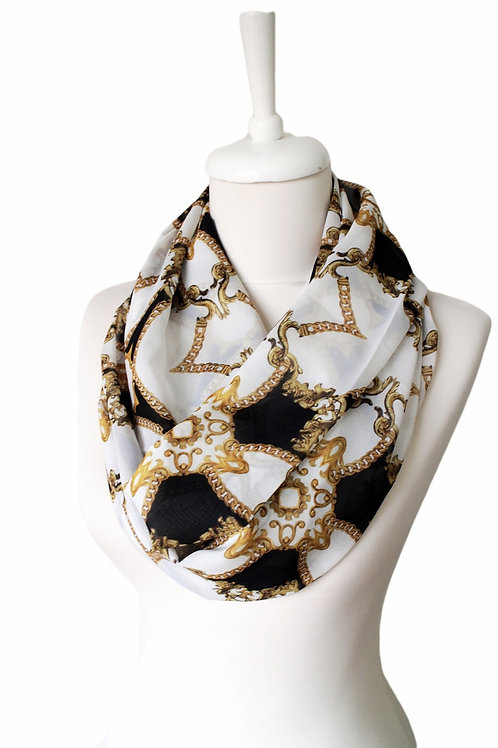 Elegant Look Infinity Scarf Gift For Woman Accessories
