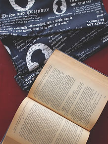 Pride and Prejudice Book Scarf