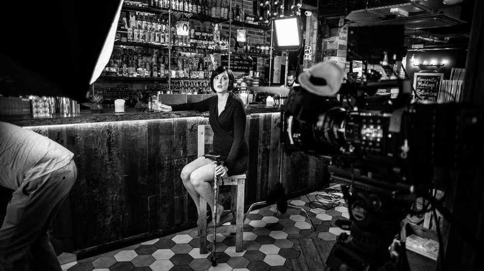 Rojo Bar scene Tess waiting B&W.jpg