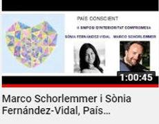 Marco Schorlemmer Sonia fernandez Vidal Pais Conscient