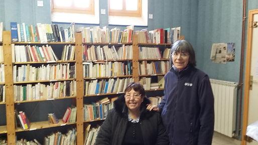 Françoise, bibliothécaire