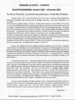 Bulletin 2261 - 2