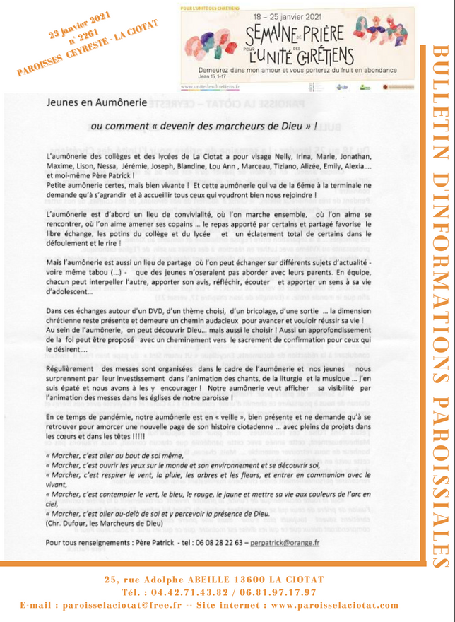 Bulletin n°2261