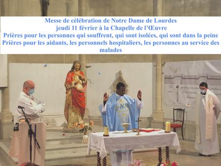 Messe de la fête de Notre Dame de Lourdes