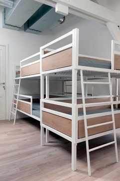 The dimensions of the beds are adapted to the rooms where they wanted to place them.