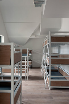The dimensions of the beds are adapted to the rooms where we wanted to place them.