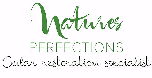 Cedar Restoration Specialist |Logo | Natures Prefections