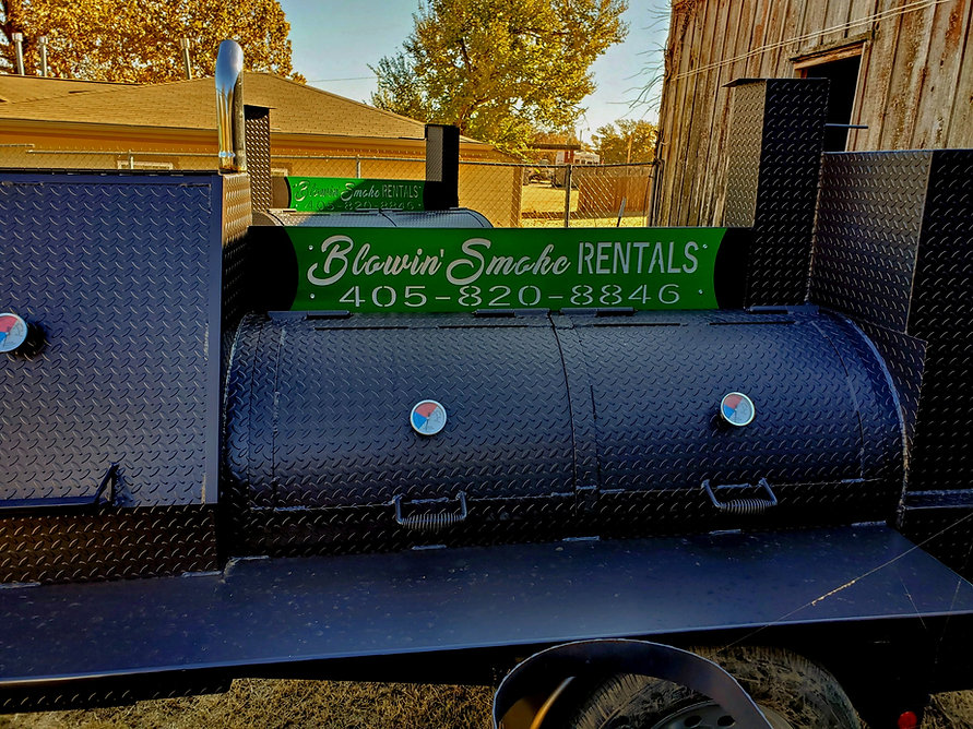 Gameday Reverse flow smoker for rent