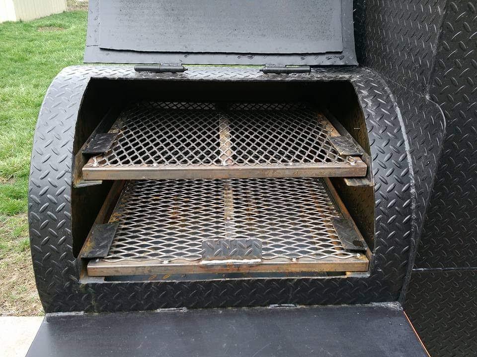 Chub smoker interior