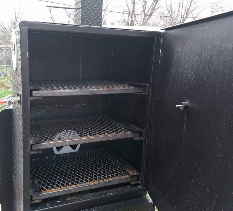 Chub smoker rib box