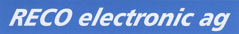 RECO electronic ag, Registrierkassen CASIO für Gastronmie und Detailhandel