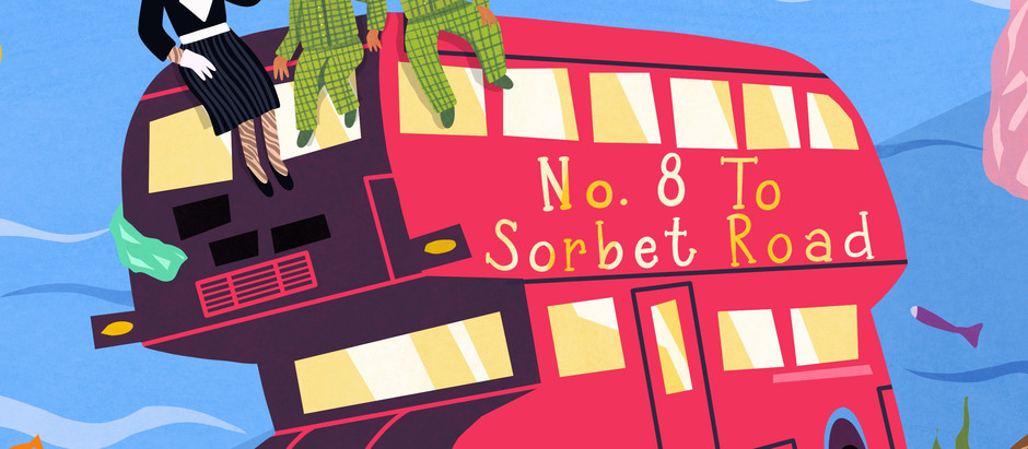 Bubbles the Zebrafish & The No.8 Bus