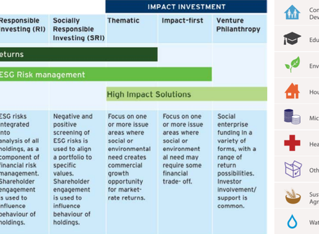 The Landscape for Social Impact Investing - a White Paper