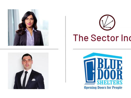 The Sector Inc is proud and humbled to sponsor Blue Door Shelter's, The Coldest Night of the Year