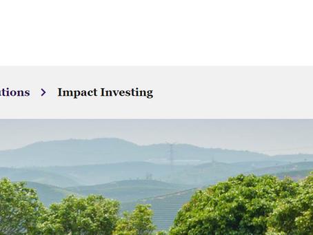 Featured Impact Investor: ACTIAM