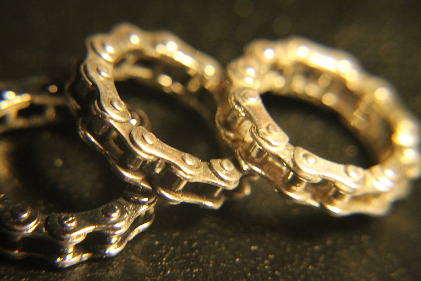 #13  MENS SINGLE CHAIN RING