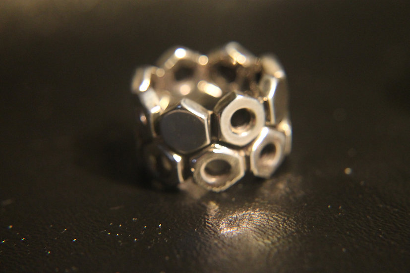 #14 DOUBLE NUT AND BOLT RING