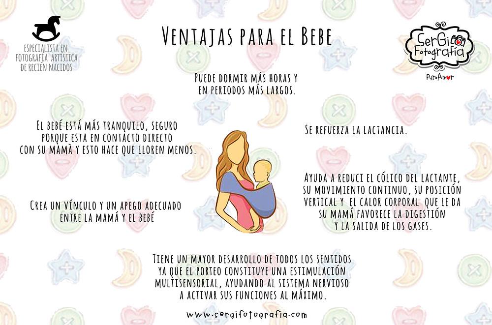 VENTAJAS PARA EL BEBE